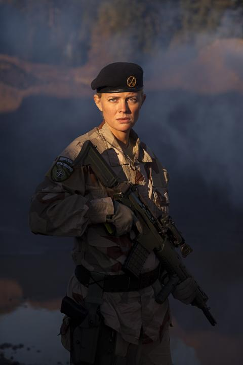 Josephine Bornebusch och David Dencik med i Björn Runges nya film Mission 1325
