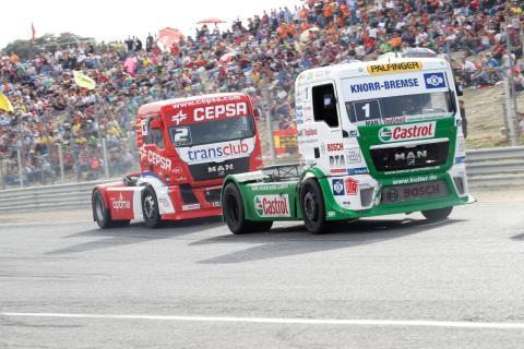 Castrol and Cepsa Trucks