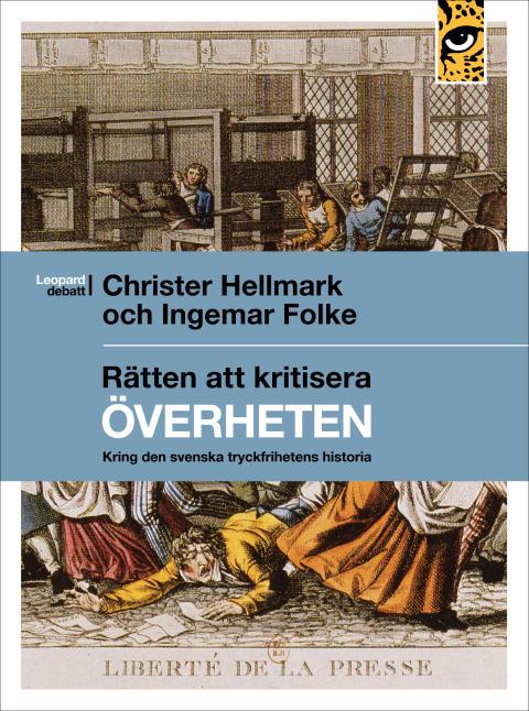 Ny bok kring den svenska tryckfrihetens historia