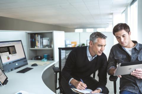 Sonans Utdanning har valgt Windows 8-nettbrettet HP ElitePad fra HP i samarbeid med ePartner