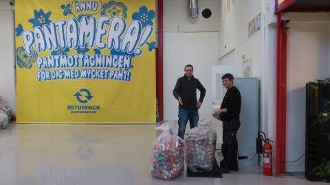 Ny pantmottagning ska få Stockholmare att panta mera