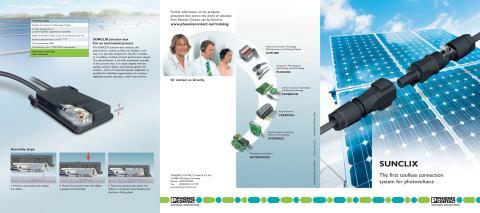 Snabbkopplade kontakter och boxar för solenergi