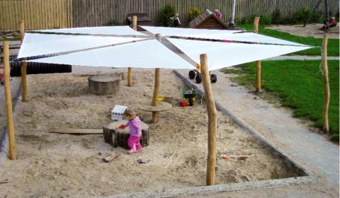Solskydd bil barn