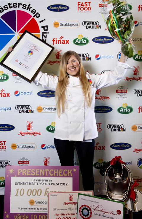 Rookie blev 2012 års pizzamästare