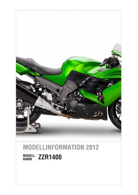 Kawasaki Modellinformation 2012 ZZR1400
