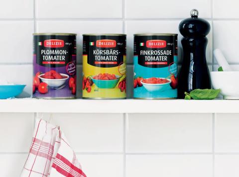 Världens näst bästa tomater ska lyfta Delizie