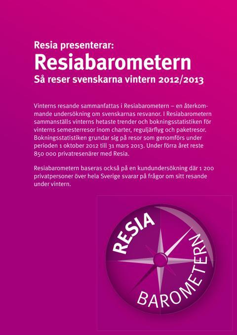 Resibarometern Vintern 2012-2013