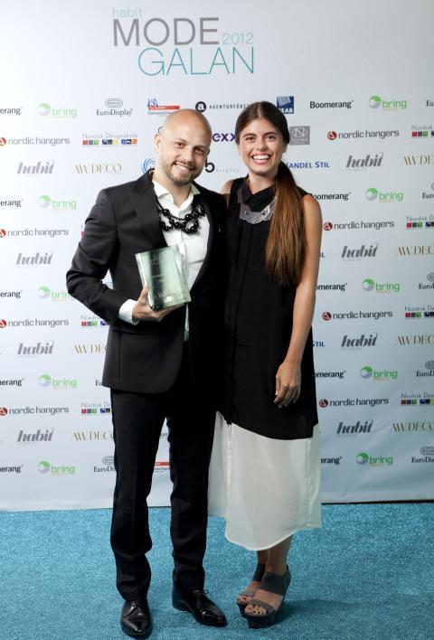 Vinnare Årets Inredningskoncept Habit Modegalan 2012 - Monki