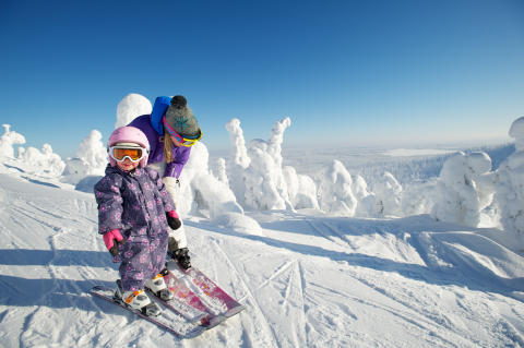 Head to Finland for a Family-Friendly Ski Holiday