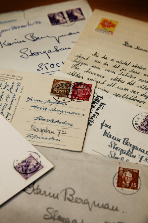 DNA-tested stamps from Bergman was incorrect