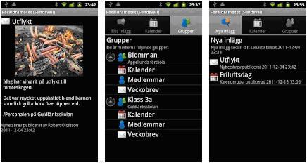 Sundsvall först igen - nu med Föräldramötet i mobilen