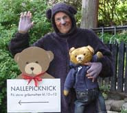 Lovande väder för årets Nallepicknick i Botaniska