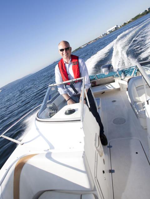 """Ja til redningsvest, nei til """"kjørepils"""" i båt"""