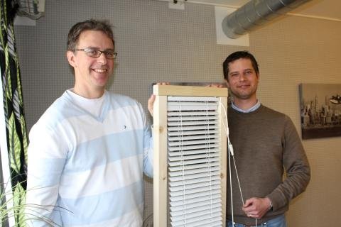 Blinds Secure tar plats i Inovas inkubator