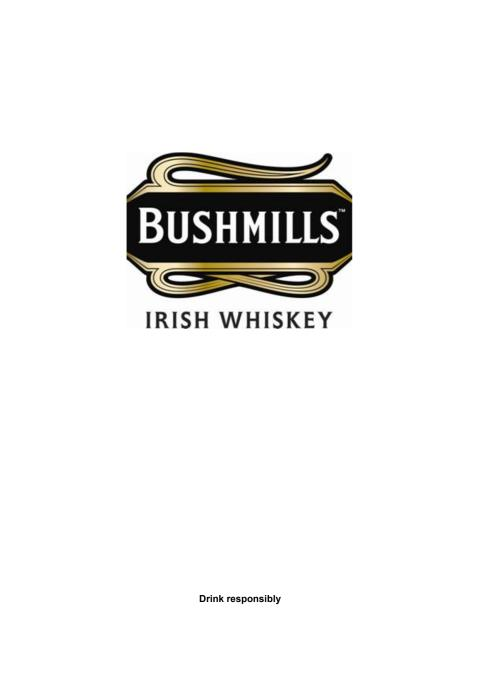 Bushmills Irish Whiskey - Pressinformation
