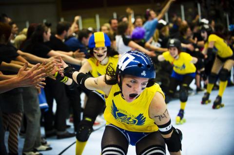 Stockholm Roller Derby tar plats i svenska landslaget!
