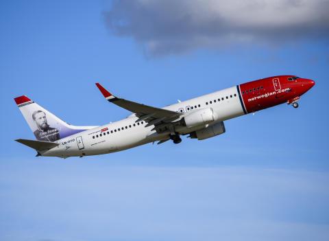 Norwegian utnämnt till Europas bästa lågprisbolag