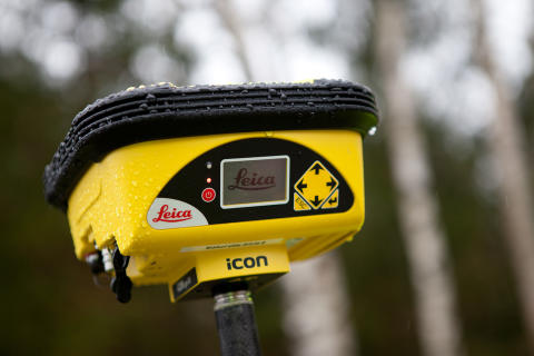 Nu kan alla mäta med GPS. Scanlaser lanserar iCON GPS 60