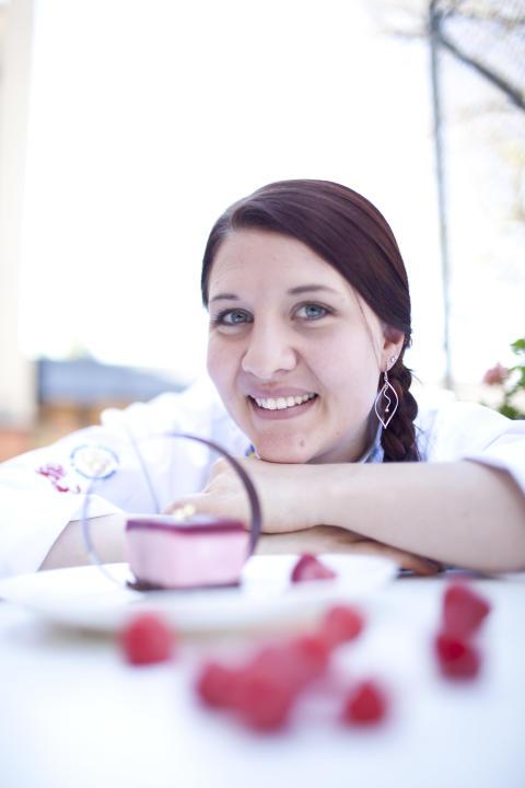 Josefine Baummann, Årets Konditor 2011 och skapare av Årets Hallondessert.