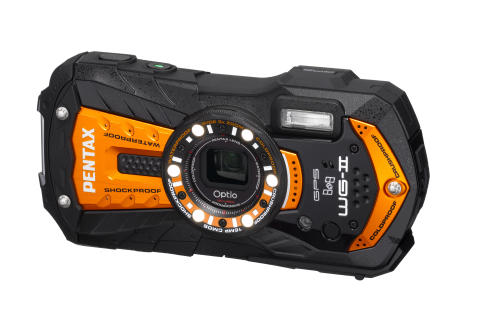 Pentax WG-2 GPS orange