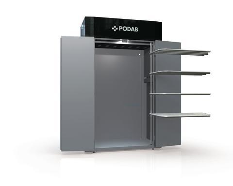 ProLine TS 63 VP är ett nytt torkskåp från PODAB. Värmepumpsteknik gör det extremt energisnålt.