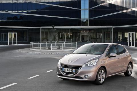 20.000 Peugeot fans kæmpede om den nye 208