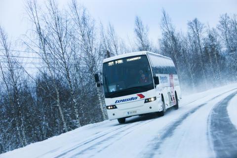 Vinterdæk på busser