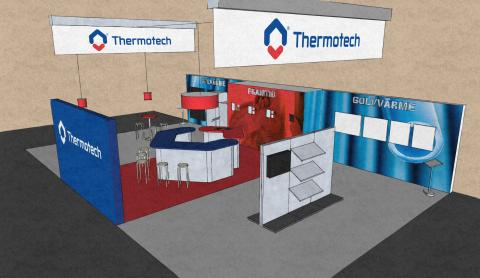 Thermotech fyller monter på Nordbygg med nyheter