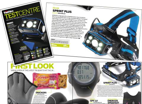 Nik Cook has reviewed the Silva Sprint in leading UK magazines