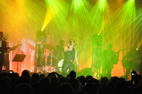 Väsby Melodifestival - bild från finalen 2012