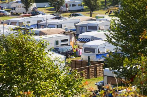Halland tar 2:a plats bland Sveriges starkaste campingdestinationer