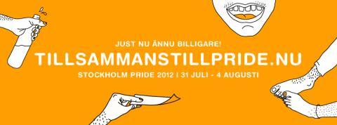 Nu släpps biljetterna till Stockholm Pride 2012