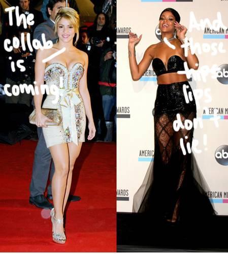 "Shakira og Rihannas ""Can't Remember To Forget"" kommer 13.01.2014"