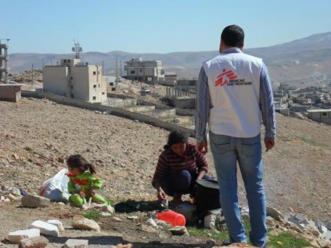 SYRIEN: Syriska flyktingar i Libanon