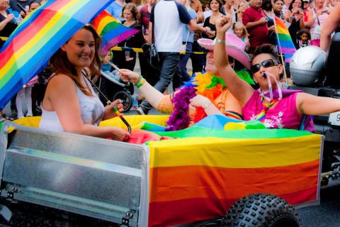 Årets Pride Parade-utropare: Robert Fux och Tasso Stafilidis