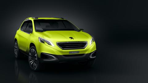 Peugeot 2008 Concept, en crossover för världen