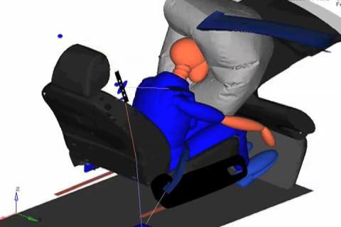 Ford on kehittänyt maailman ensimmäisen digitaalisen lapsimallin virtuaaliseen törmäystestaukseen