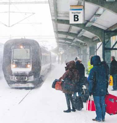 Skånetrafiken rustar för vintern