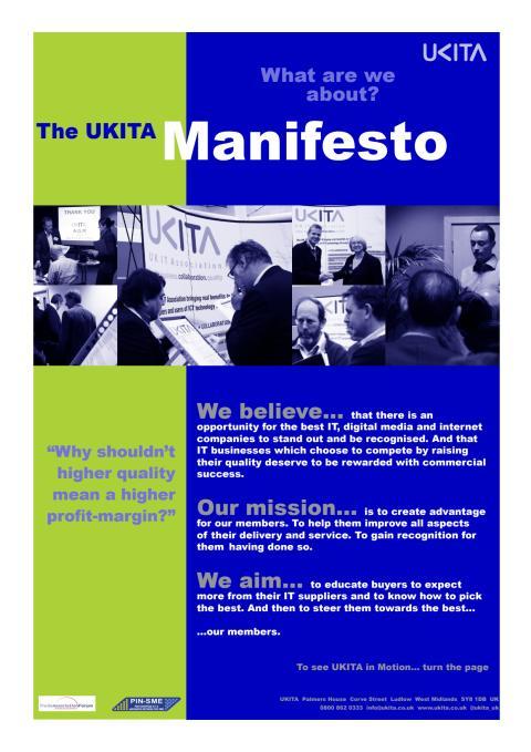 UKITA Manifesto