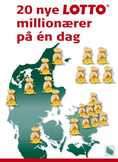Fra Frederikshavn til Grevinge regner det med millioner