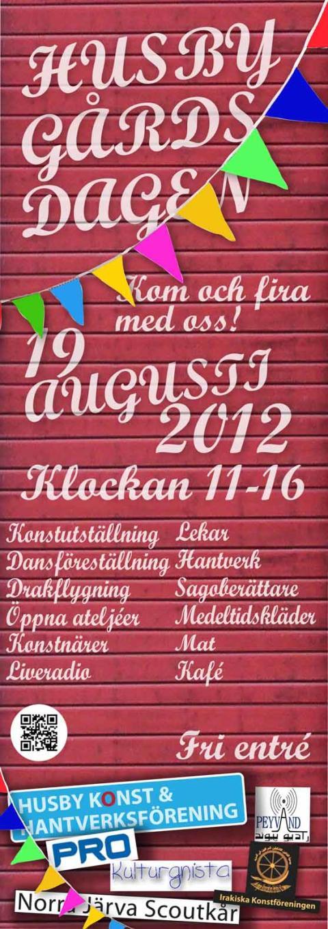 Husby Gårdsdagen 19 augusti 2012