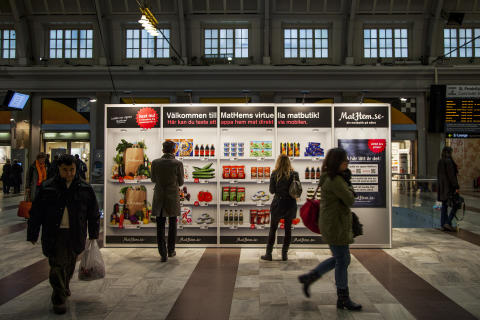 Succén fortsätter – MatHems virtuella butik dyker upp på nytt