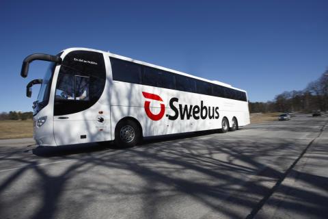 Swebus sommartidtabell: Ny busslinje i Västra Götaland