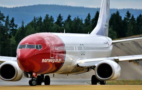 Norwegian-flyet LN-NOE