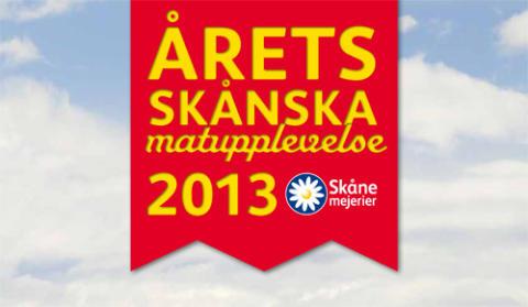 Årets Skånska matupplevelse 2013