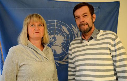 Lillehammer-lærere på vei til FN i New York
