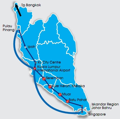 Tenders for Kuala Lumpur-Singapore high speed rail link expected.