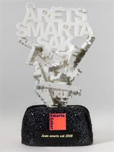 Nominerade till Årets Smarta Sak!