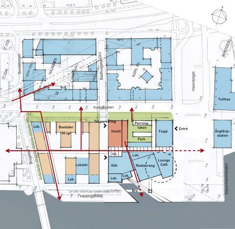 Nya planer för Sveriges mest attraktiva tomt