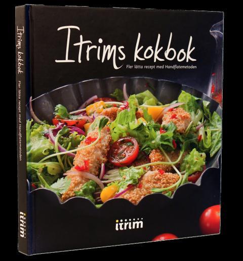 """Itrims andra kokbok """"Fler lätta recept med Handflatemetoden"""""""